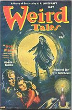 Weird Tales cover image for May 1944