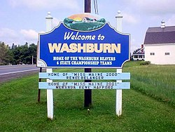 Washburn, Maine.