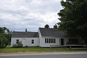 National Register of Historic Places listings in York County, Maine - Image: Wells ME Austin Hennessey Homestead