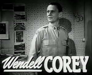 Wendell Corey - from the trailer for The Search (1948)