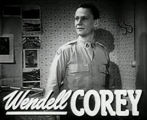 Schauspieler Wendell Corey