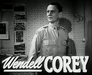 Wendell Corey American actor and politician