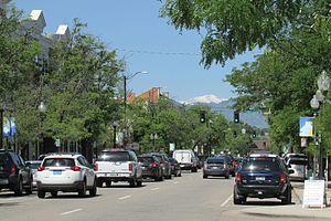Littleton, Colorado - Main Street in Downtown Littleton