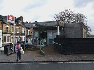 West Norwood railway station - West Norwood station building