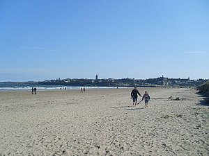 English: West Sands Beach, St Andrews The beac...
