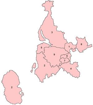 West of Scotland (Scottish Parliament electoral region) - Image: West Scotland Number