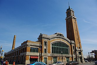West Side Market - View of the market from West 25th Street