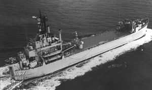 USS Westchester County (LST-1167) - USS Westchester County underway, date and location unknown