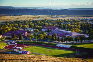 View of Western Colorado University's campus