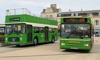 Crosville Motor Services (Weston-super-Mare) - Open top Bristol VRT and two-door Plaxton Pointer 2 (photographed 2013)