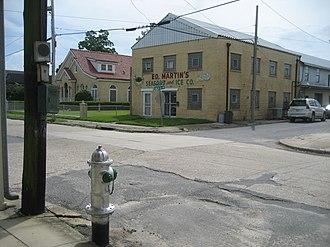 Westwego, Louisiana - Image: Westwego Ed Martins Hydrant May 2009