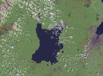 Lough Neagh - NASA Landsat image