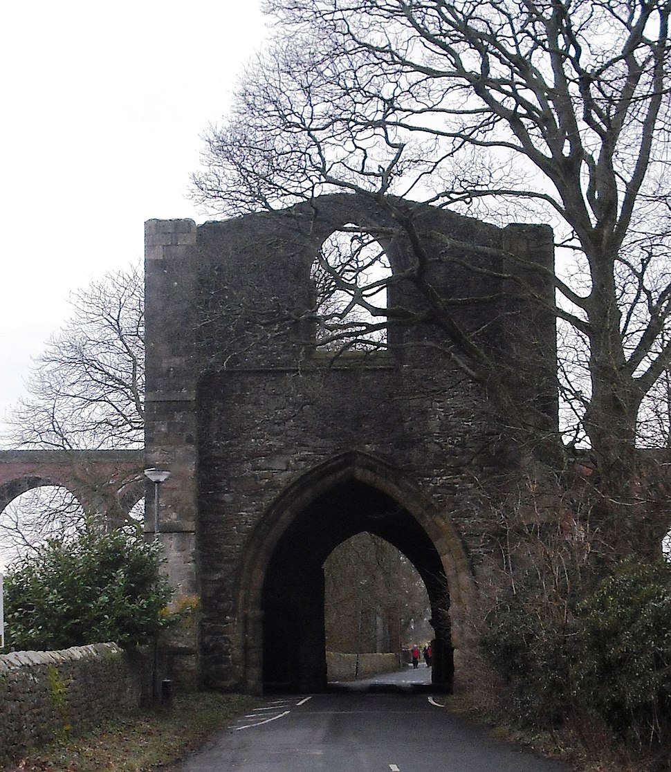 Whalley Gateway from east