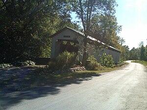 Gibson County, Indiana - Wheeling Covered Bridge