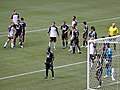 Whitecaps defend corner vs Colorado Rapids.jpg