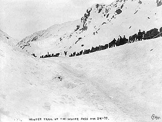 White Pass - White Pass trail in 1899