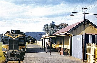 Whittlesea railway station, Melbourne
