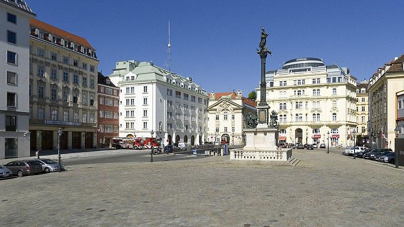 File Wien 01 Am Hof A Jpg Wikimedia Commons
