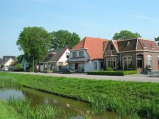 Wieringerwaard Town in North Holland, Netherlands