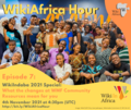 WikiAfrica Hour Episode 7 social media post.png