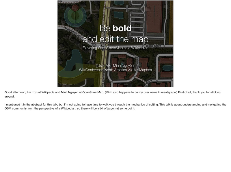 File:WikiConference North America 2016 - Be bold and edit the map (with notes).pdf