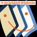 Wikibooks-logo 6 lat.png