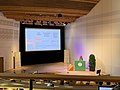 Wikimania Hackathon 2019 Stockholm - Rachel kicking things off.jpg