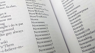 Print Wikipedia - Wikipedia page from Contributor Appendix (detail)