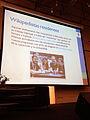 Wikipedians in Residence GLAM-WIKI Santiago - Stierch.jpg