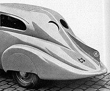 Wikov 35 Kapka, charakteristická záď vozu (Světozor, december 1933).jpg