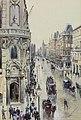 Wilhelm Georg Ritter Blick von der Taubenstraße auf die Friedrichstraße in Berlin 1896.jpg