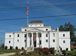 Former Wilkes County Courthouse, now the Wilkes Heritage Museum