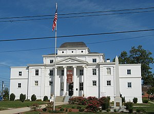 Wilkesboro, North Carolina - Former Wilkes County Courthouse, now the Wilkes Heritage Museum