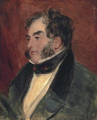 William Arden, 2nd Baron Alvanley - Image: William Arden, 2nd Baron Alvanley, by Edwin Henry Landseer
