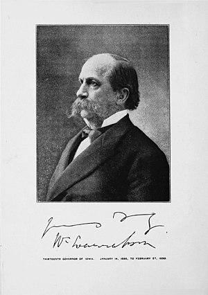 William Larrabee (Iowa) - Image: William Larrabee