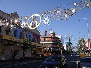 William Street, Perth Street in CBD Perth, Western Australia