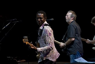 Willie Weeks - Weeks alongside Eric Clapton in the 2007 Crossroads Guitar Festival