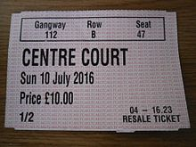 The championships wimbledon wikipedia ticketsedit stopboris Gallery