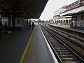Wimbledon station platform 8 look north.JPG