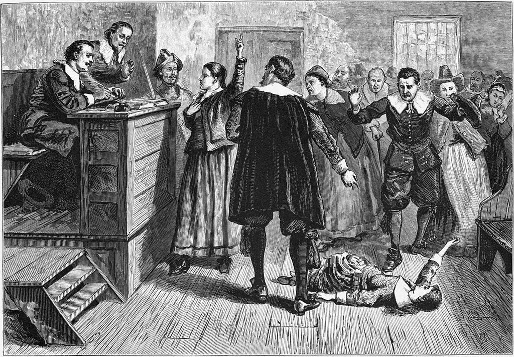 美國殖民地時代的撒冷女巫事件 社會在恐慌的情緒氣氛下,將不公不義的罪名強加於無辜者頭上