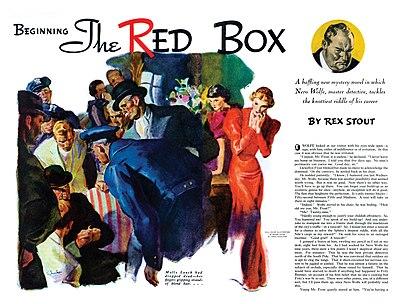 The Red Box (Nero Wolfe, Book 4)