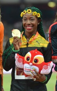 Shelly-Ann Fraser-Pryce Jamaican track and field sprinter