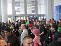 WonderCon 2012 - crowds form around the Transformers (6873353366).jpg