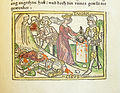 Woodcut illustration of the defeat of Cyrus II by Tomyris, Queen of the Massagetae - Penn Provenance Project.jpg