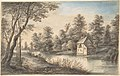 Wooded Landscape with a House beside a River MET DP802354.jpg