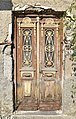 Wooden door of an old house.jpg