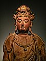 Wooden figure of Guanyin from the Song Period (960-1279 CE) China 02.jpg