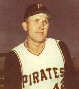 Woody Fryman - Pittsburgh Pirates - 1966