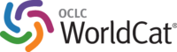 Five-color WorldCat emblem, with WorldCat in black letters and OCLC in smaller grey letters