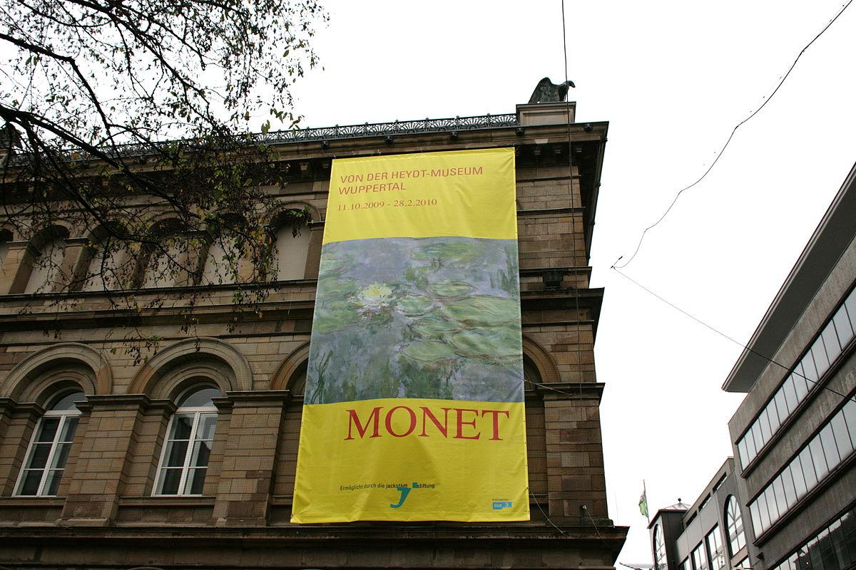 Claude Monet Ausstellung Wuppertal Wikipedia